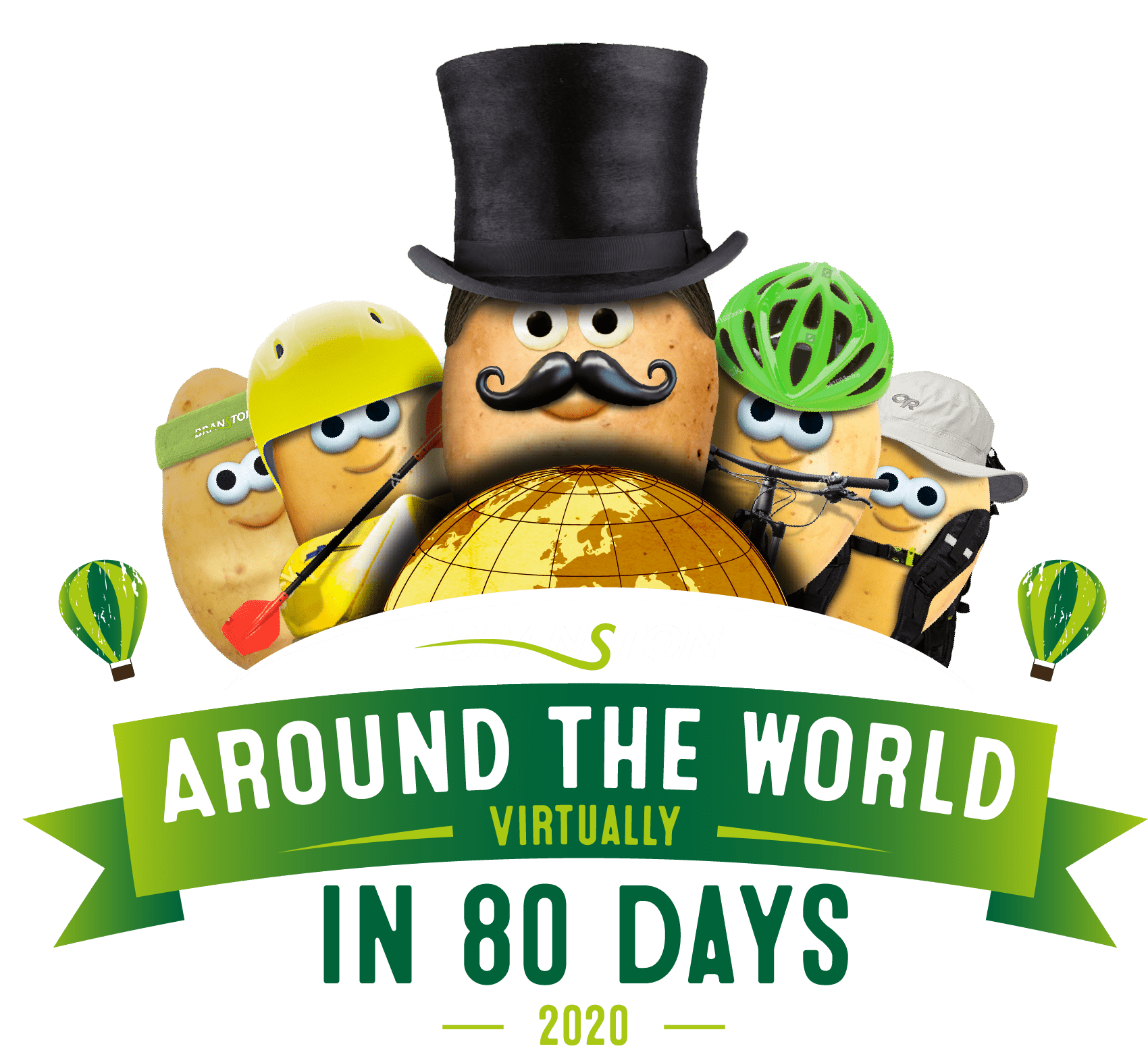 Around the World Virtually in 80 days 2020