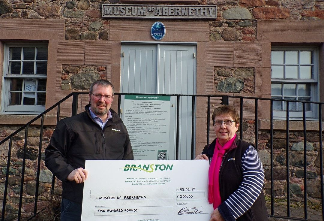 Branston helps Abernethy museum maintain memories