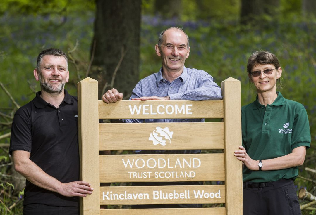 Branston supports Scotland's most spectacular Bluebell Wood